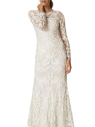 Phase Eight Bridal Aubrina Tapework Wedding Dress Pearl