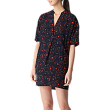 Buy Whistles Luna Magnolia Dress, Navy/Multi Online at johnlewis.com