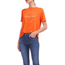Buy Whistles Brunch Club Logo T-Shirt, Red Online at johnlewis.com