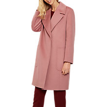 Buy Jaeger Wool Wide Collar Coat Online at johnlewis.com