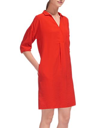 Whistles Lea Pocket Dress, Red