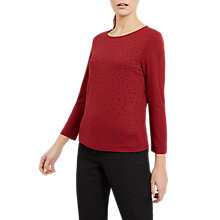 Buy Jaeger Hot Fix Jersey Top Online at johnlewis.com