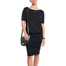 Buy hush Tara Boat Neck Dress, Black Online at johnlewis.com