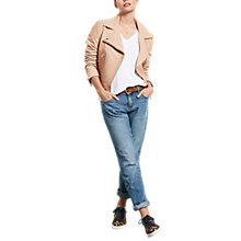 Buy hush Frayed Star Jeans, Denim Online at johnlewis.com