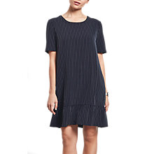 Buy hush Neve Pinstripe Dress, Midnight Online at johnlewis.com