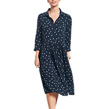 Buy hush Sunstar Farah Dress, Midnight/Green Online at johnlewis.com