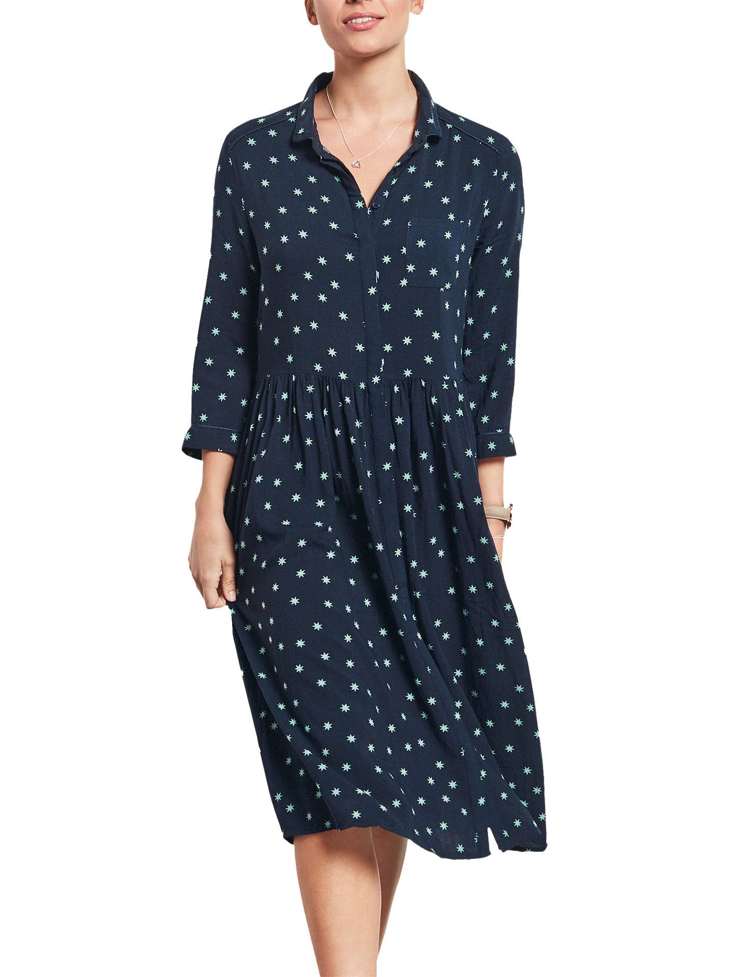 superior performance sells clearance hush Sunstar Farah Dress, Midnight/Green at John Lewis ...