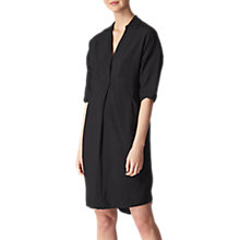 Buy Whistles Longline Lola Dress, Black Online at johnlewis.com