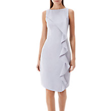 Buy Coast Shanie Drape Shift Dress, Grey Online at johnlewis.com