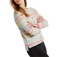 Buy White Stuff Sugar Stripe Cardigan Online at johnlewis.com