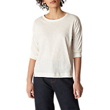 Buy Whistles Lucie Seam Detail Top Online at johnlewis.com