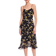 Buy Whistles Lottie Print Amber Dress, Multi Online at johnlewis.com