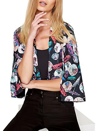 Damsel in a Dress Umbrella Print Kimono Jacket, Multi