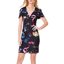 Buy Damsel in a Dress Pixelated Floral Print Dress, Multi Online at johnlewis.com