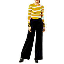 Buy Warehouse Striped Colour Block Jumper Online at johnlewis.com