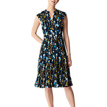 Buy Whistles Celia Iris Print Dress, Multi Online at johnlewis.com