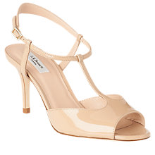 Buy L.K. Bennett Quinn Patent Leather Stiletto Heel Sandals Online at johnlewis.com