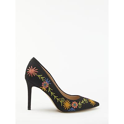 Sam Edelman Hazel Pointed Toe Stiletto Court Shoes, Multi Suede