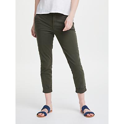 J Brand Josie Tapered Leg Trousers, Linden