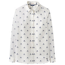 Buy Joules Lucie Printed Shirt, Cream Bee Online at johnlewis.com