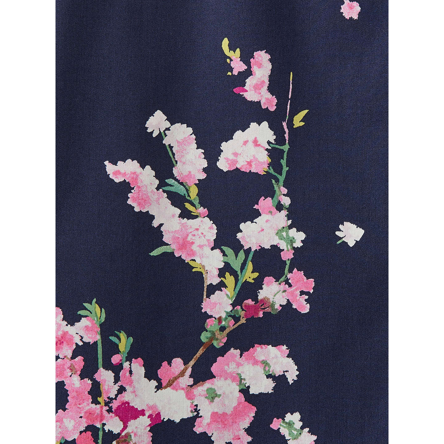 BuyJoules Lucie Printed Shirt, French Navy Blossom, 8 Online at johnlewis.com