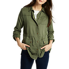 Buy Joules Cassidy Safari Jacket, Khaki Online at johnlewis.com