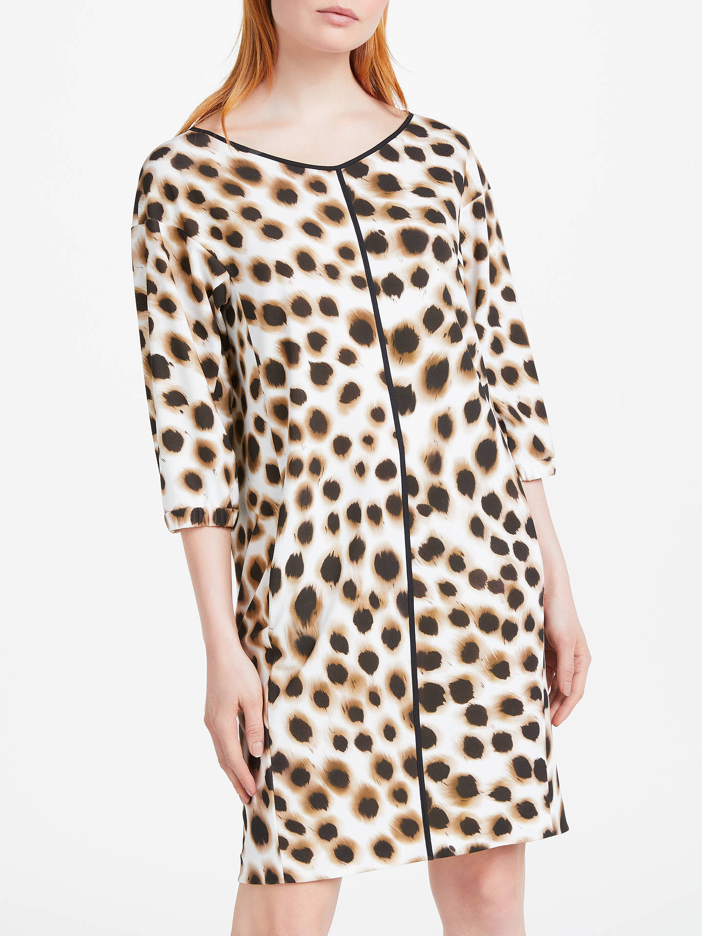5a42a196256249 Buy Marc Cain Animal Print Shift Dress