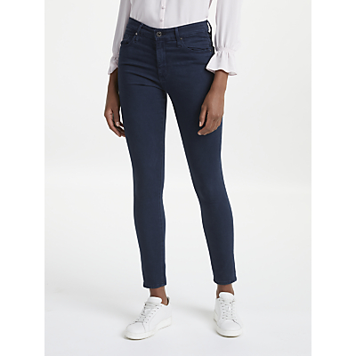 AG The Farrah High Rise Skinny Ankle Jeans, Sulfur Dark Cove