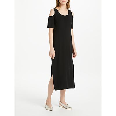 Oui Cold Shoulder Dress, Black