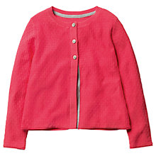 Buy Mini Boden Girls' Pretty Cardigan, Pink Online at johnlewis.com