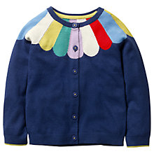 Buy Mini Boden Girls' Fun Cardigan, Blue Online at johnlewis.com