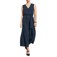 Buy hush Pinstripe Jumpsuit, Midnight Online at johnlewis.com