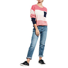 Buy hush Colourblock Jumper, Multi Online at johnlewis.com
