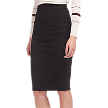 Buy Whistles Jersey Tube Skirt, Black Online at johnlewis.com