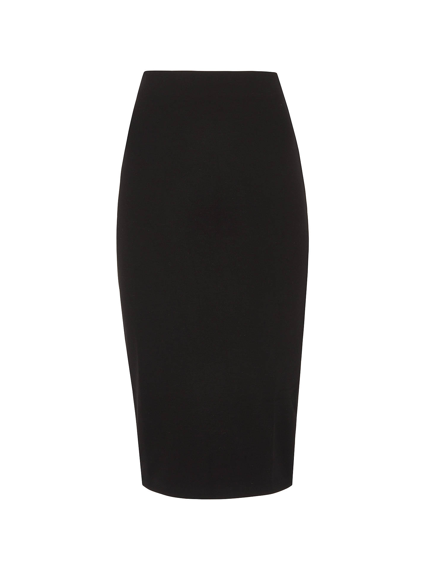 Molti Prescrivere capolavoro  Whistles Jersey Tube Skirt, Black at John Lewis & Partners