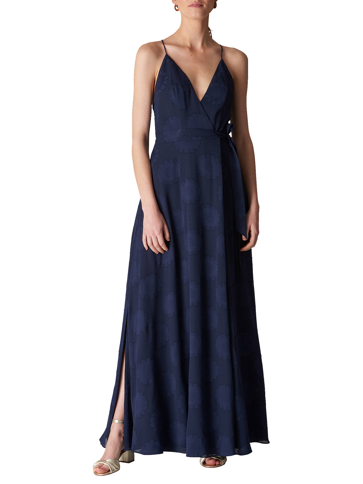 bcf88803ebdcf Whistles Noa Jacquard Maxi Dress at John Lewis & Partners
