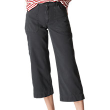 Buy Whistles Utility Trousers, Grey Online at johnlewis.com