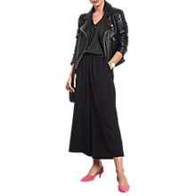 Buy hush Stripe Bryce Culottes, Black Online at johnlewis.com