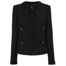 Buy L.K.Bennett Charlee Jacket, Black Online at johnlewis.com