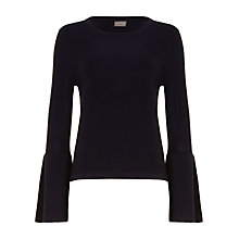 Buy Phase Eight Flori Bell Sleeve Knitted Top Online at johnlewis.com
