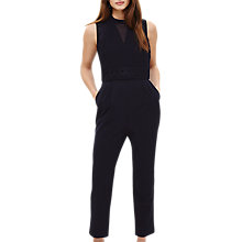 Buy Phase Eight Pearl Embroidered Jumpsuit, Navy Online at johnlewis.com