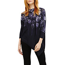 Buy Phase Eight Bernice Balloon Print Jumper, Midnight Online at johnlewis.com