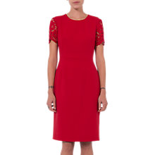 Buy French Connection Whisper Ruth Round Neck Dress Online at johnlewis.com