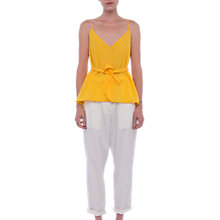 Buy French Connection Dalma Crepe Light Top Online at johnlewis.com