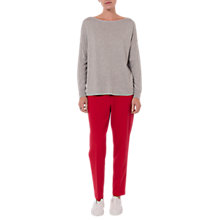 Buy French Connection Summer Cotton Blend Split Back Jumper Online at johnlewis.com