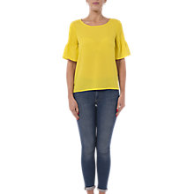 Buy French Connection Classic Crepe Light Top Online at johnlewis.com