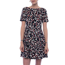 Buy French Connection Chira Dress, Utility Blue/Multi Online at johnlewis.com