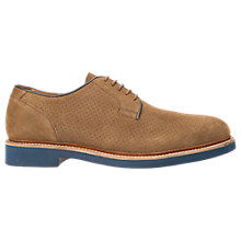 Buy Geox Damocle Suede Brogues Online at johnlewis.com
