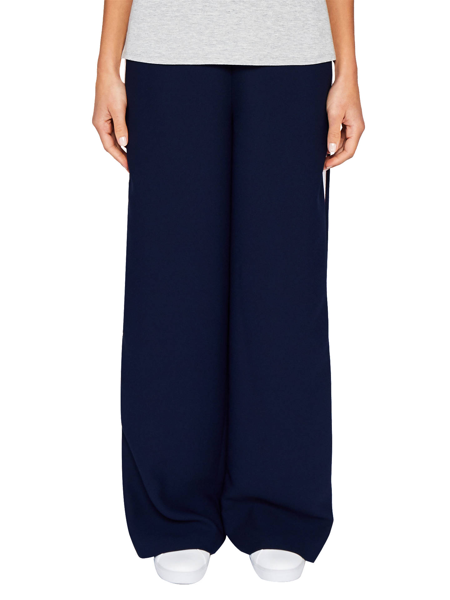 Ted Baker Ted Says Relax Yuli Grosgrain Wide Leg Trousers