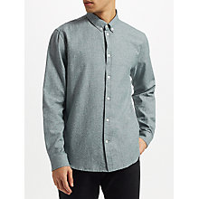 Buy Samsoe & Samsoe Liam BX Long Sleeve Brushed Cotton Shirt Online at johnlewis.com